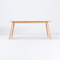 Teska table | 180x90 | Mesas comedor | Gazzda