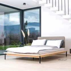 Fina bed | 160x200 | Camas | Gazzda