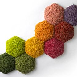 Convex Hexagon   Sound absorbing wall art   Nordgröna