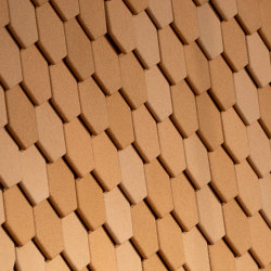 Saga Hexagon | Sound absorbing wall systems | Nordgröna