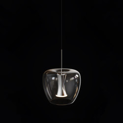 Apple mood small suspension aluminium | Suspended lights | Quasar