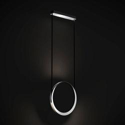 Moonlight suspension 50 aluminium | Suspended lights | Quasar