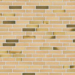 Classica | RT 412 Yellow/green Malakit | Ceramic bricks | Randers Tegl
