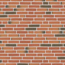 Classica | RT 418 Red/brown Fyrkat | Ceramic bricks | Randers Tegl