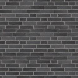 Innova | RT 601 Black rustic | Ceramic bricks | Randers Tegl