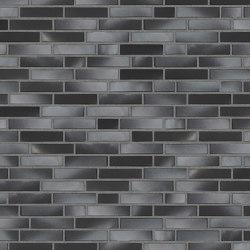 Innova | RT 602 Black/greyish rustic | Ceramic bricks | Randers Tegl