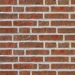 Rustica | RT 444 Red/brown | Ceramic bricks | Randers Tegl