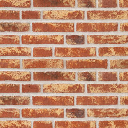 Rustica | RT 453 Red Barok | Ceramic bricks | Randers Tegl