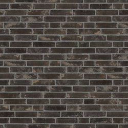 Rustica | RT 515 Rokoko blackish blue | Ceramic bricks | Randers Tegl