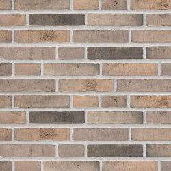 Unika | RT 517 Delfi Blackish grey | Ceramic bricks | Randers Tegl