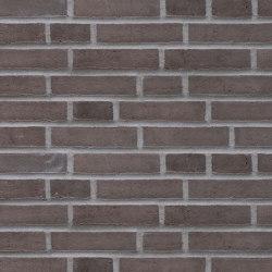 Unika | RT 520 Negro with charcoal | Ceramic bricks | Randers Tegl
