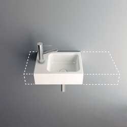 MERO MINI VARIO wall-mount washbasin | Wash basins | Schmidlin
