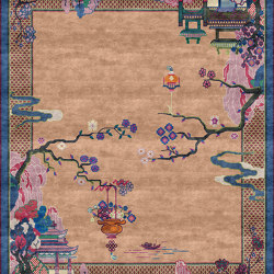 Chinoiserie | Riverhouse Spring Garden | Rugs | Tapis Rouge