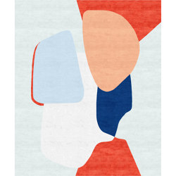 Abstraction | Composition X | Rugs | Tapis Rouge