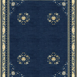 Chinoiserie | Floating Lotus River Blue | Rugs | Tapis Rouge