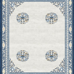 Chinoiserie | Floating Lotus Cloud Grey | Rugs | Tapis Rouge