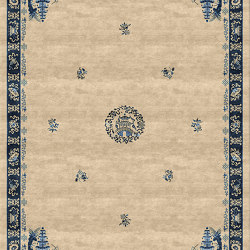 Chinoiserie | Pagoda Antique Sand | Rugs | Tapis Rouge