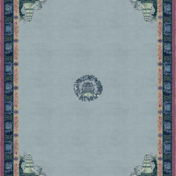 Chinoiserie | Pagoda Blue Fade | Rugs | Tapis Rouge