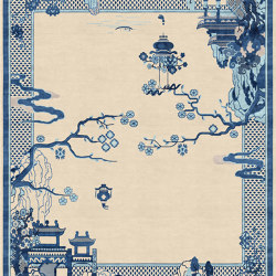 Chinoiserie | Riverhouse Antique Sand | Formatteppiche | Tapis Rouge