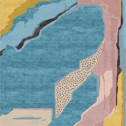 Abstraction | Composition I.I | Rugs | Tapis Rouge