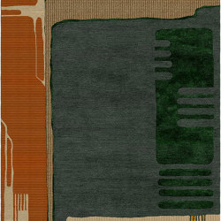 Abstraction | Composition XIII.II | Rugs | Tapis Rouge