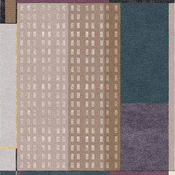 Abstraction | Composition XVII | Rugs | Tapis Rouge