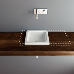 MERO MINI VARIO counter top washbasin | Wash basins | Schmidlin