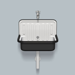 AG.STAHLFORM510U  Bicolor | Wash basins | Alape