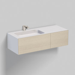 WP.Folio7 | brushed oak | Wash basins | Alape