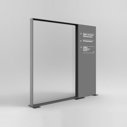 DRESSWALL Health | Arrangement | Privacy screen | Dresswall