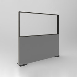 DRESSWALL Health | Freestanding Horizontal | Privacy screen | Dresswall