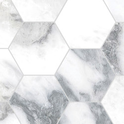 Canova Arabescato | Esagona | Ceramic mosaics | Rondine