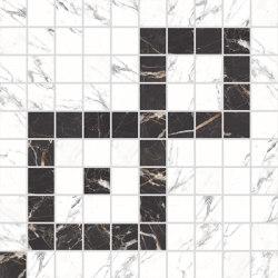 Canova Mosaico B&W 01 | Mosaicos de cerámica | Rondine