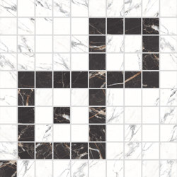 Canova Mosaico B&W 01 | Ceramic mosaics | Rondine
