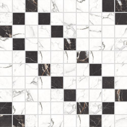Canova Mosaico B&W 02 | Ceramic mosaics | Rondine