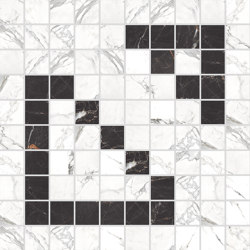 Canova Mosaico B&W 03 | Mosaicos de cerámica | Rondine