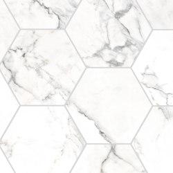 Canova Statuario | Esagona | Mosaicos de cerámica | Rondine