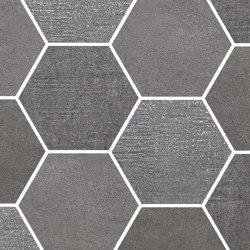Loft Dark | Esagona | Ceramic mosaics | Rondine