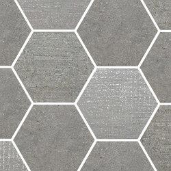 Loft Grey   Esagona   Ceramic mosaics   Rondine