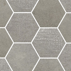 Loft Taupe | Esagona | Ceramic mosaics | Rondine