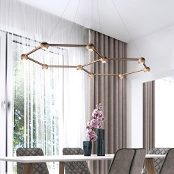 Favo - The Light Cell | Suspended lights | Sattler