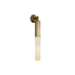 Flume | Wall Light - Antique Brass | Wall lights | J. Adams & Co