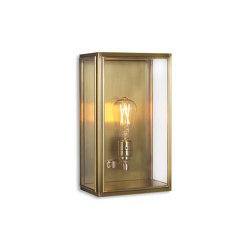 Lantern | Birch Wall Light - Medium - Antique Brass & Clear Glass | Wall lights | J. Adams & Co