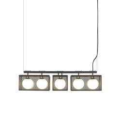 Pearl | 2-1-2 Pendant - Bronze | Suspended lights | J. Adams & Co