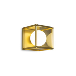 Pearl | Wall Light 1 - Satin Brass | Wall lights | J. Adams & Co