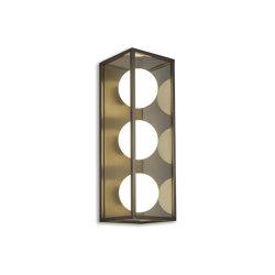 Pearl | Wall Light 3 - Bronze | Wall lights | J. Adams & Co