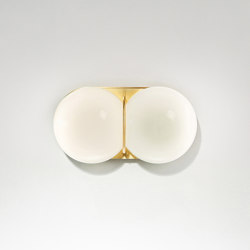 Twin 2.0 Sconce/Ceiling   Wall lights   SkLO
