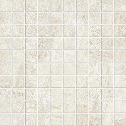 Anthology Stone Mosaico Ivory | Mosaicos de cerámica | EMILGROUP