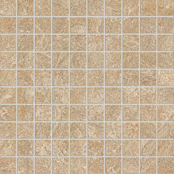 Anthology Stone Mosaico Gold | Ceramic mosaics | EMILGROUP