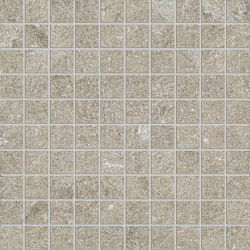 Anthology Stone Mosaico Grey | Ceramic mosaics | EMILGROUP